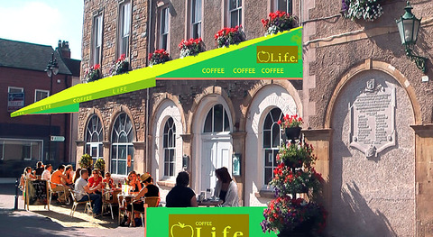 PIAZZA: This artist's impression shows how the town centre eyesore could be transformed.