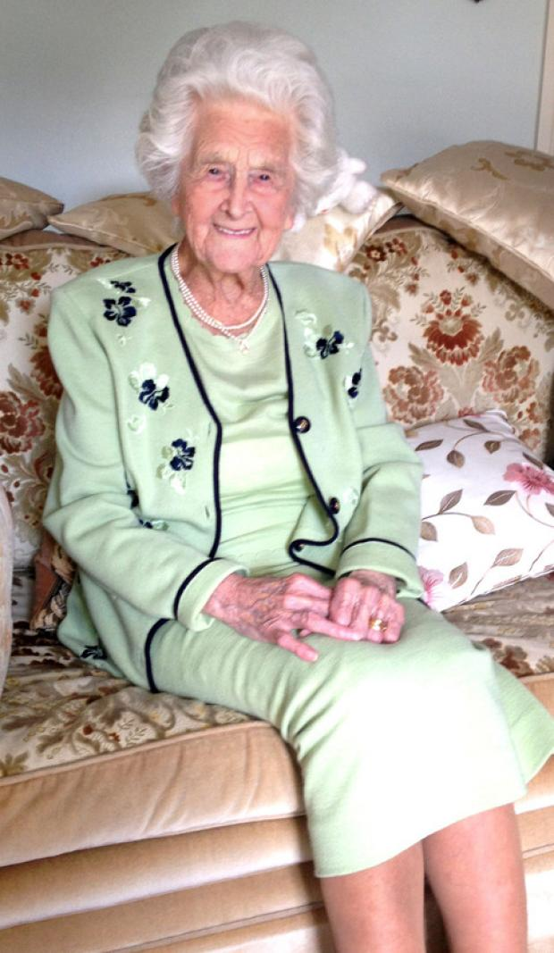 Cotswold Journal: RADIANT: Grace Jones has celebrated her 106th birthday.
