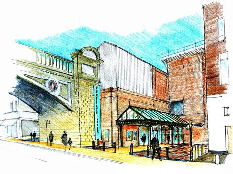 CRITICISM: An artist's drawing of how Foregate Street rail station could look.