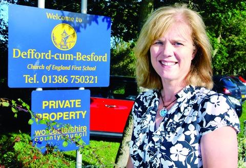 HEADTEACHER: Andrea Bailey is in charge at Defford.