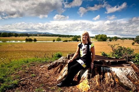 PARK LIFE: Actress and singer Toyah Wilcox at Croome, her favourite place for a stroll.