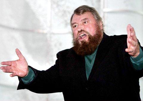 GORDON'S ALIVE! Brian Blessed steps in for Withnail