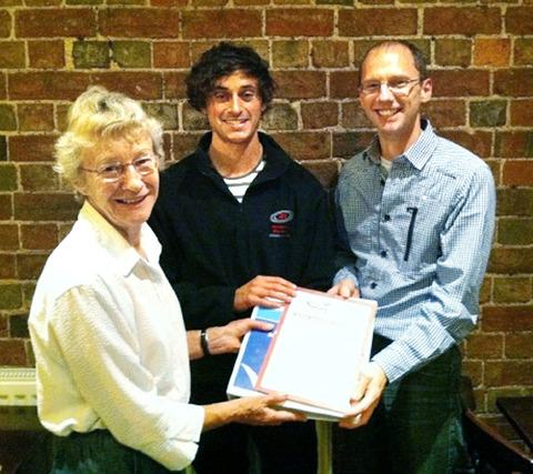 ACCOLADE: Evesham Vale's (from left): Virginia Pawlyn, Matt Granger and Adam Spiers. Picture: GLENN PARDOE.