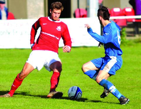 HIT MAN: Jamie Clarke grabbed two goals in Littleton's win over Coventry Copsewood.