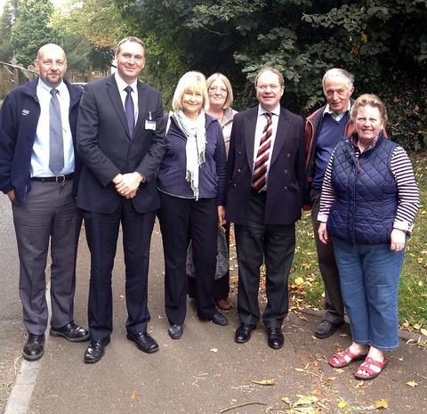 MP joins anti-speeding campaign in Campden