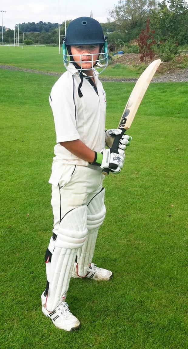 JOE NISHIGAKI: The young bowler has also produced some decent efforts with the bat. Picture: EMMA NISHIGAKI
