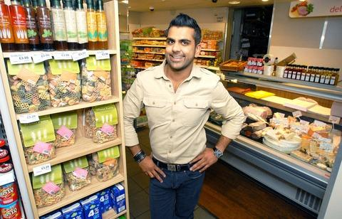 SUPPORT: Harj Dhasee, owner of the Nisa Local in Mickleton, who is involved in many aspects of village life. 40143401