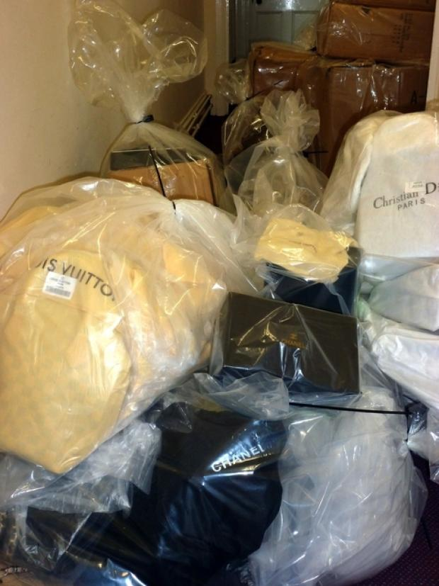 Fake goods seized at Stow Fair