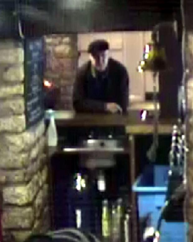 Cotswold Journal: Police want to speak to this man