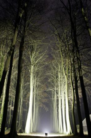 Hidcote Manor will be illuminated for the Enchanted Gardens event this month.