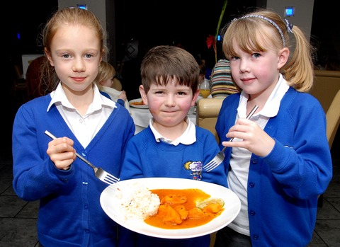 Pupils get a taste of India