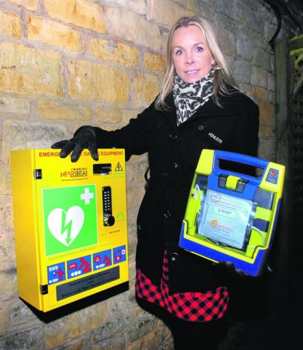 WHEN it's a matter of life or death, the wait for the ambulance can feel like an eternity ... but Donna Holland of the Chester House Hotel, Bourton, may have the answer to such a crisis at her fingertips.