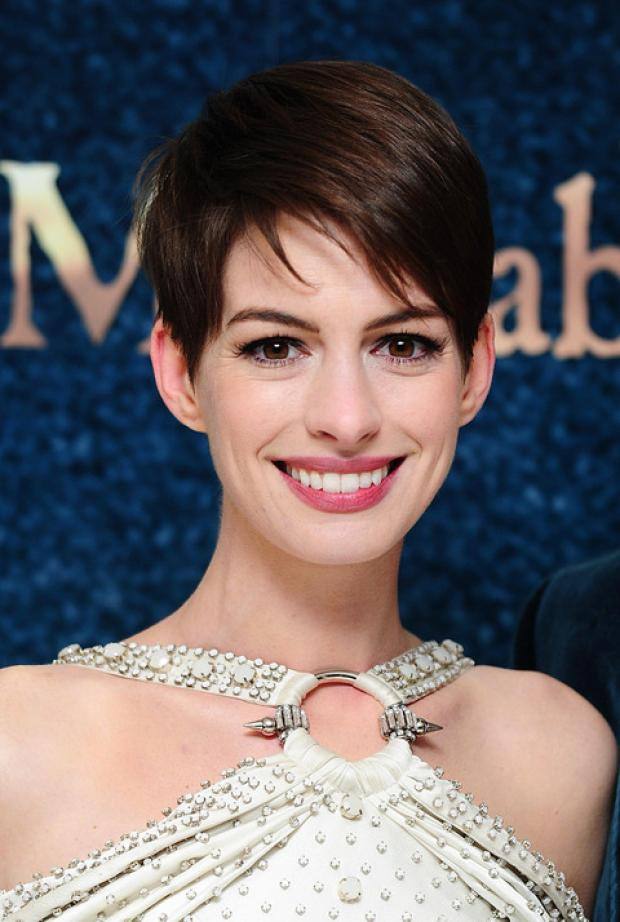 HOPEFUL: Anne Hathaway, star of Les Misérables