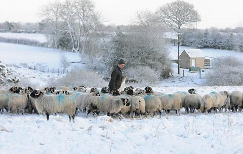 Gloucestershire gears up for snow this weekend