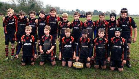 ALL STARS: Bredon Star under 11s.