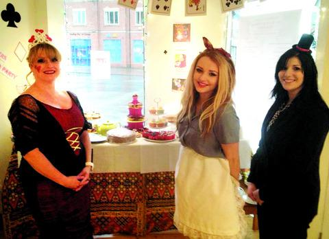 Salon holds tea party in aid of blind boy