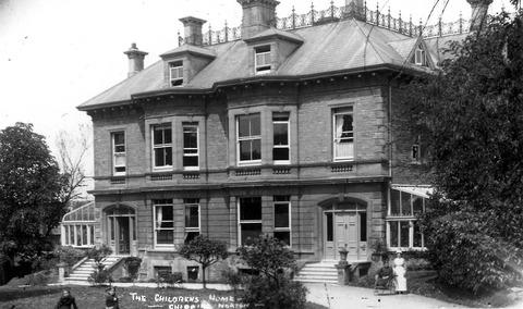 PAST TIMES: Penhurst School pictured back in the 1930s. Picture: Action for Children.