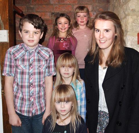 Cotswold Journal: Sophie Proud, Elizabeth Smith,  William Jeal, twins Eve and Faith Thomas Taylor and Katie Pritchard.