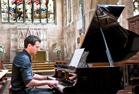 TALENTED: Concert pianist Marcel Zidani performing last year