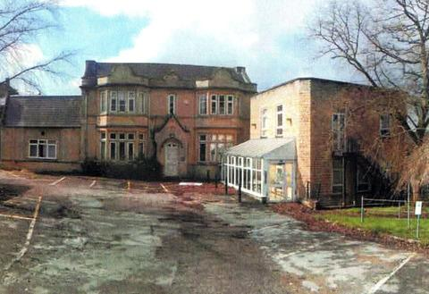 OUT OF USE: The former hospital building in Over Norton Road, Chipping Norton.