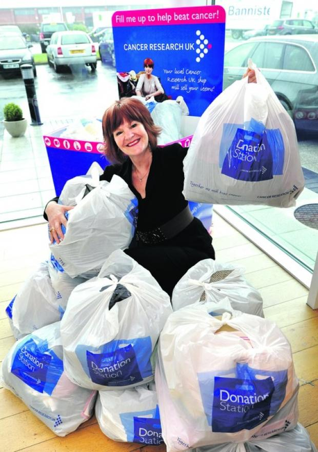 Donation station proves a charity hit