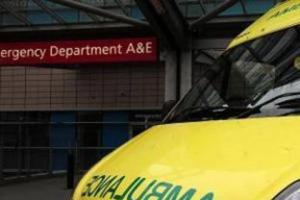 Two airlifted following three-car crash near Stow