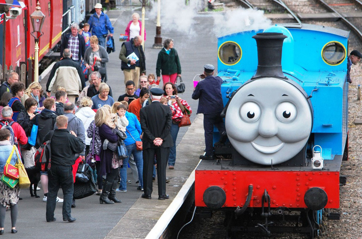 Thomas set to take over vintage railway