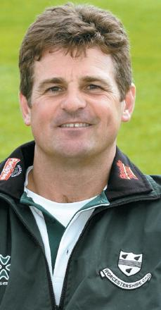 STEVE RHODES: Delighted with his bowlers.