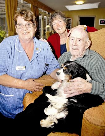 Broadway care home blesses pets in special service
