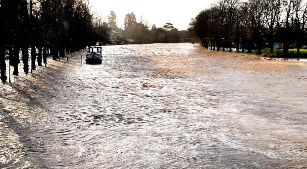 Cotswold Journal: Despite rising river levels and flood warnings across the Vale, it's fingers crossed that we've escaped the worst of it