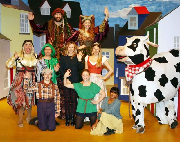 Cotswold Journal: TV star's panto fun