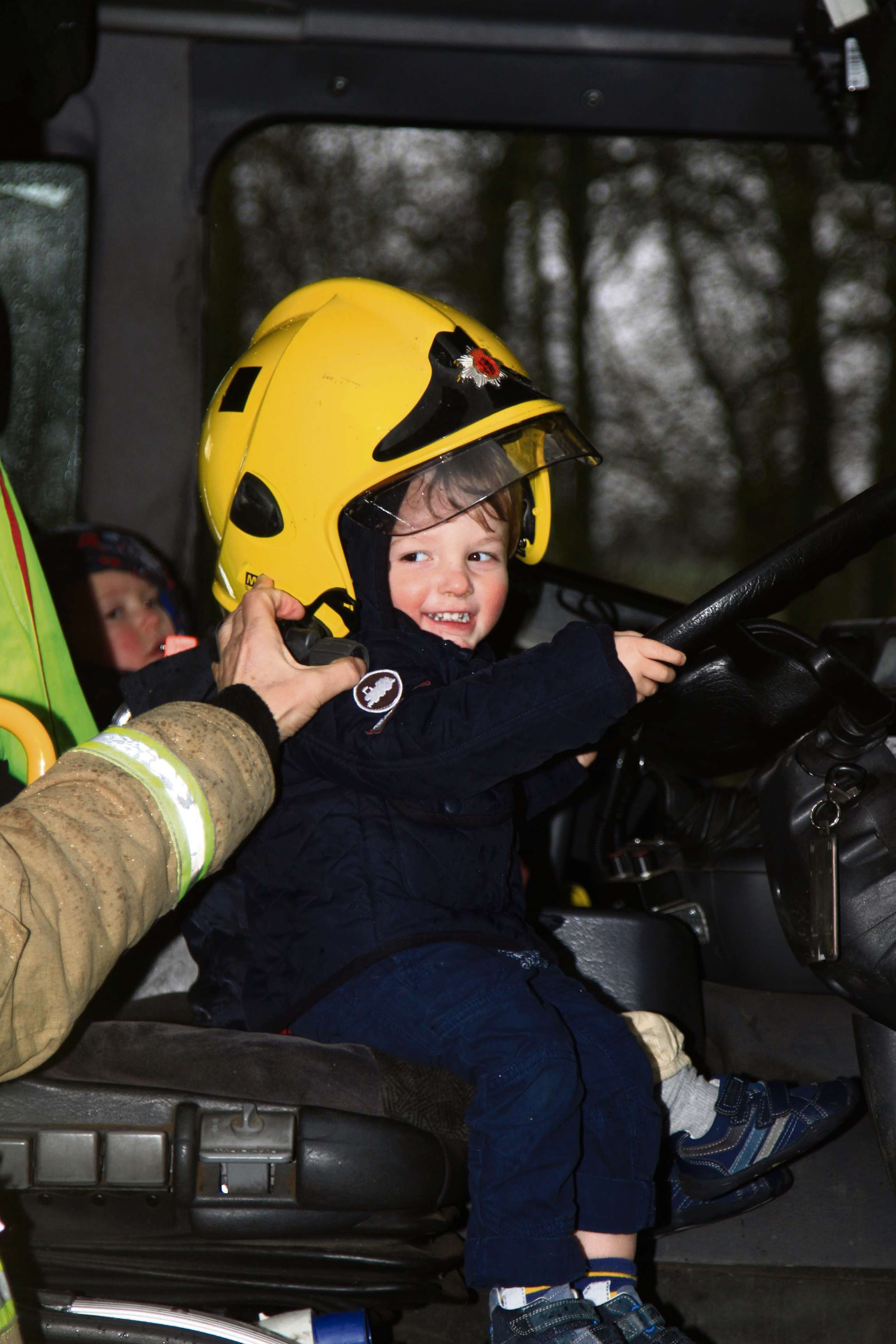 Firefighters hot topic at nursery