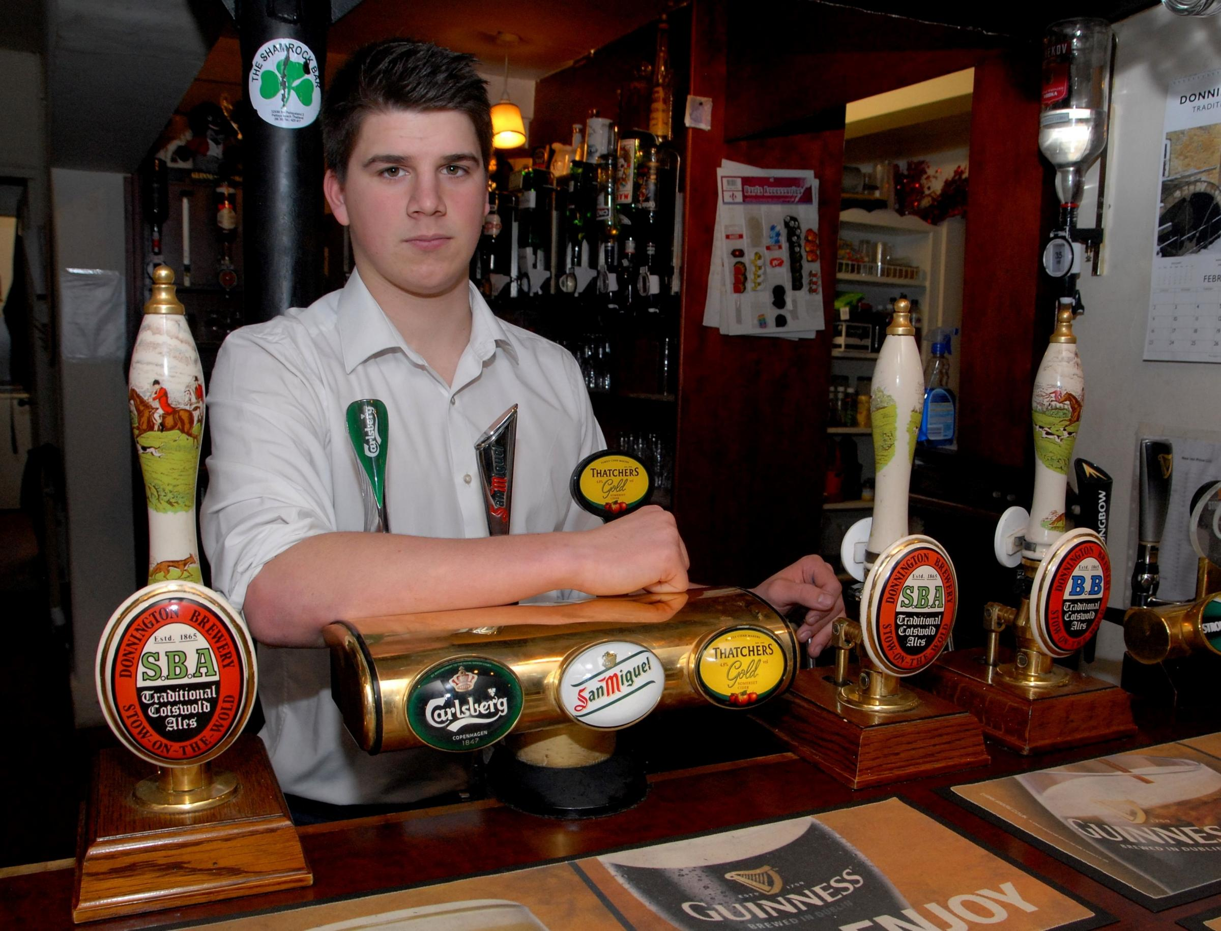 Charity funds stolen from pubs by 'scum'