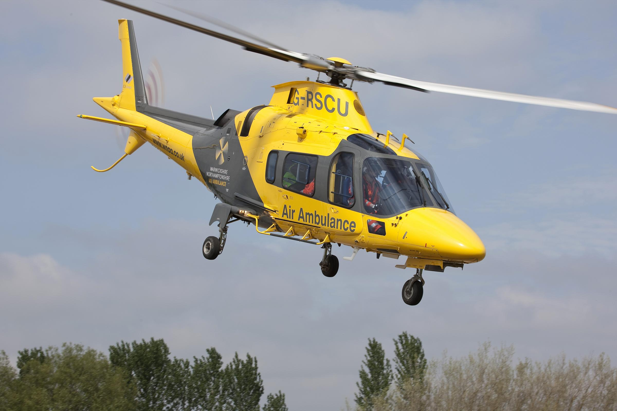 Air ambulance called to Shipston twice in one day