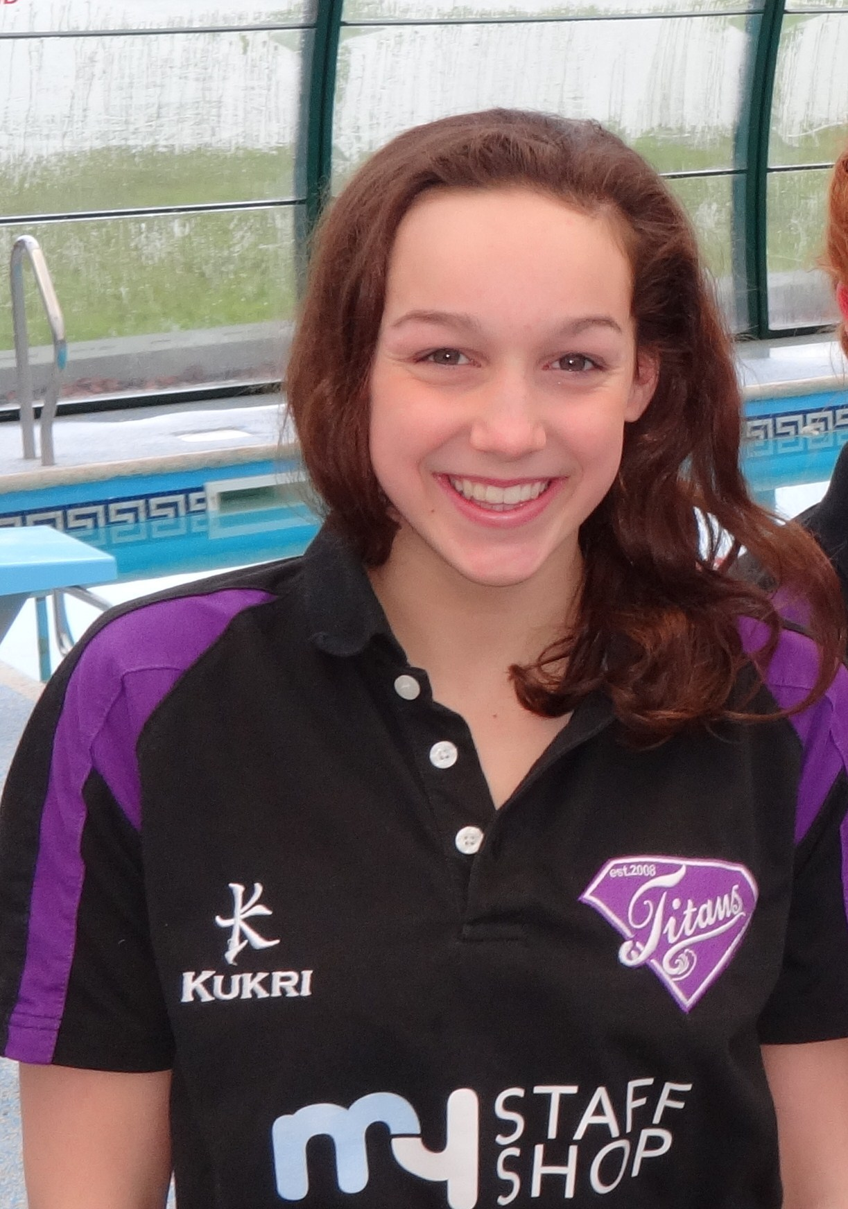 EURO TRIP: For Evesham's Chloe Golding, who competed in Luxembourg for the West Midlands. Picture: IAN PUGH.