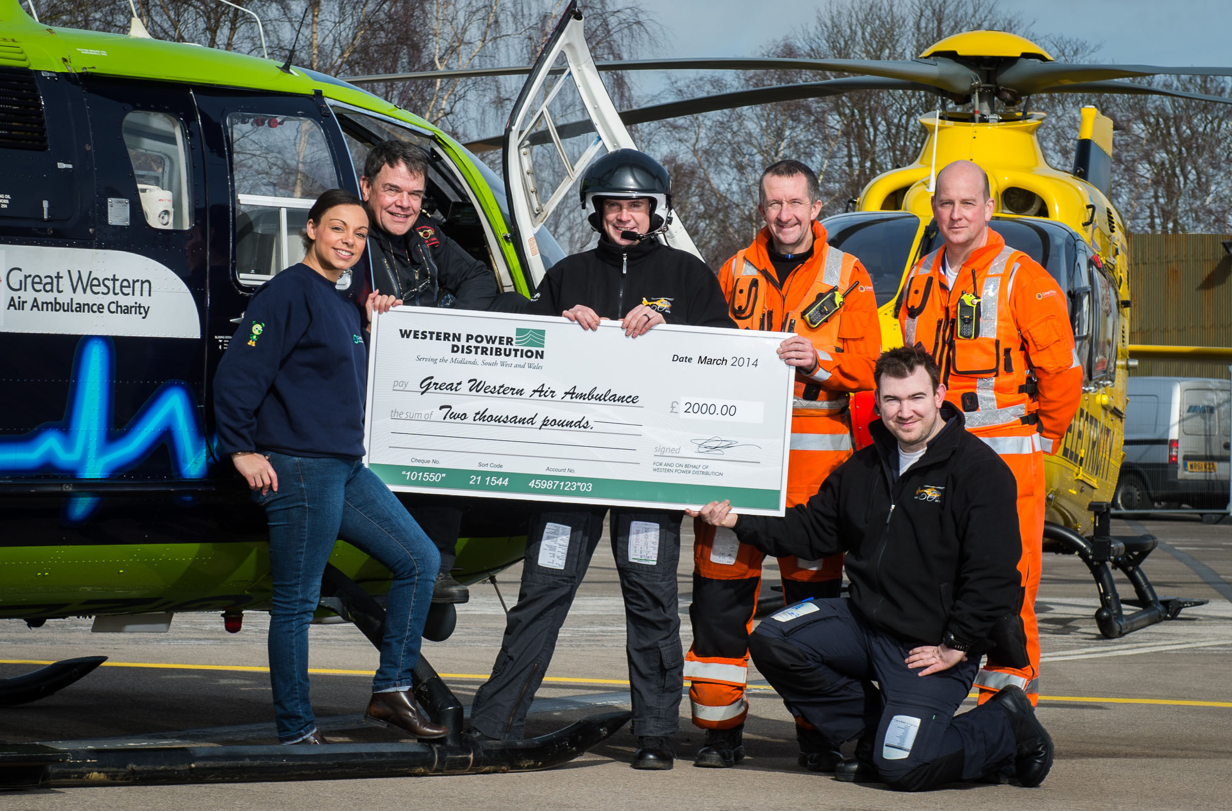Special delivery for Great Western Air Ambulance