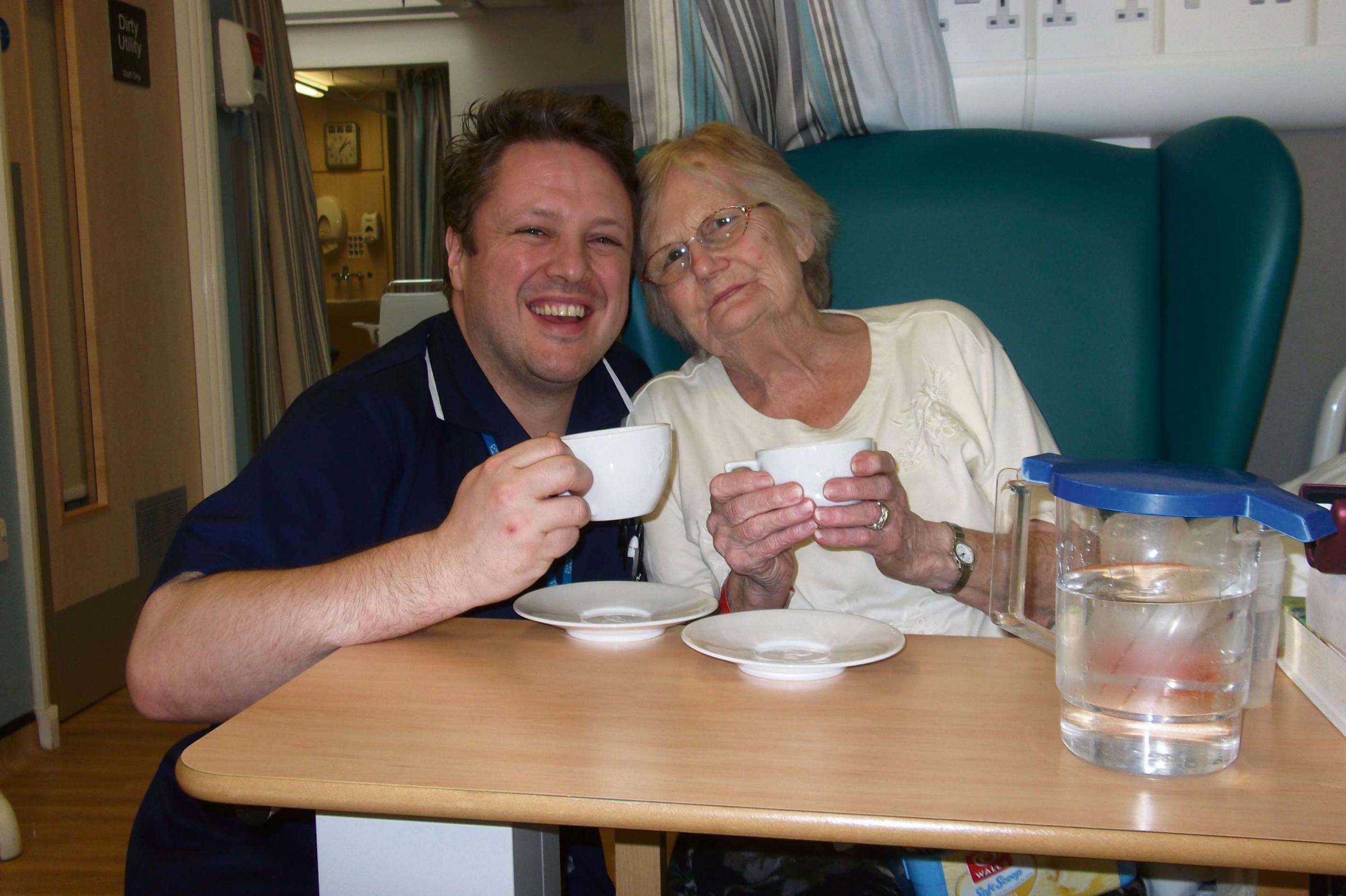 Worcestershire hospitals hold tea parties to promote nutrition