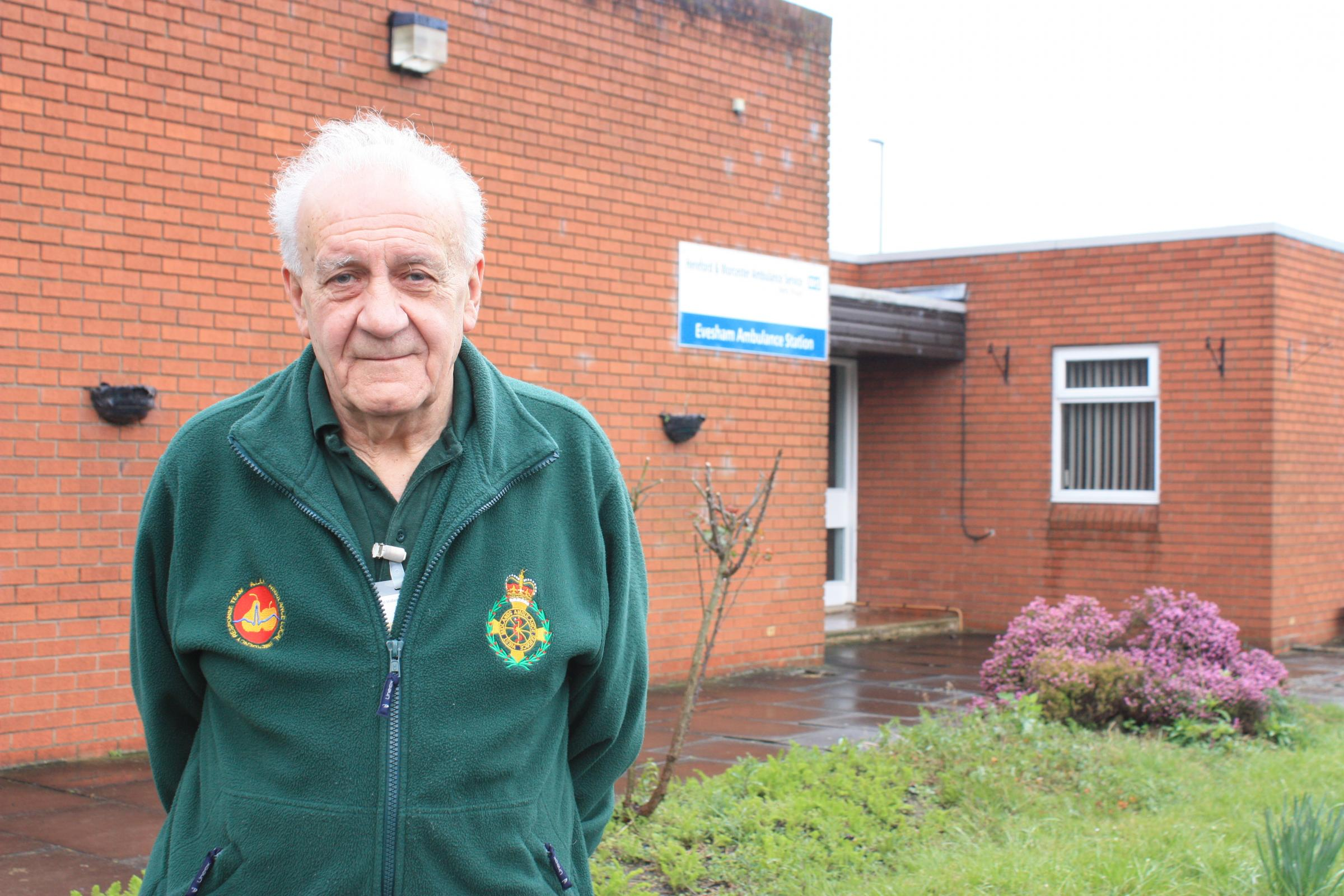 WHAT A HERO: Graham Wride who has been a community responder for the last seven years
