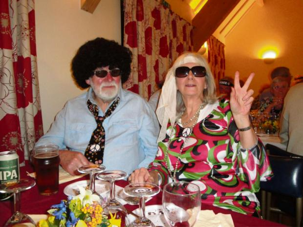 Cotswold Journal: Villagers Barry and Viv Oddy