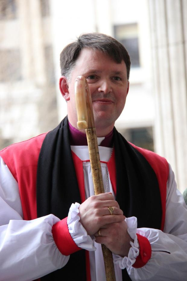 Cotswold Journal: New Bishop of Dudley the Rt Revd Graham Usher