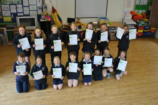 Cotswold Journal: TOP OF THE CLASS: Brainy pupils pass Lamda exams