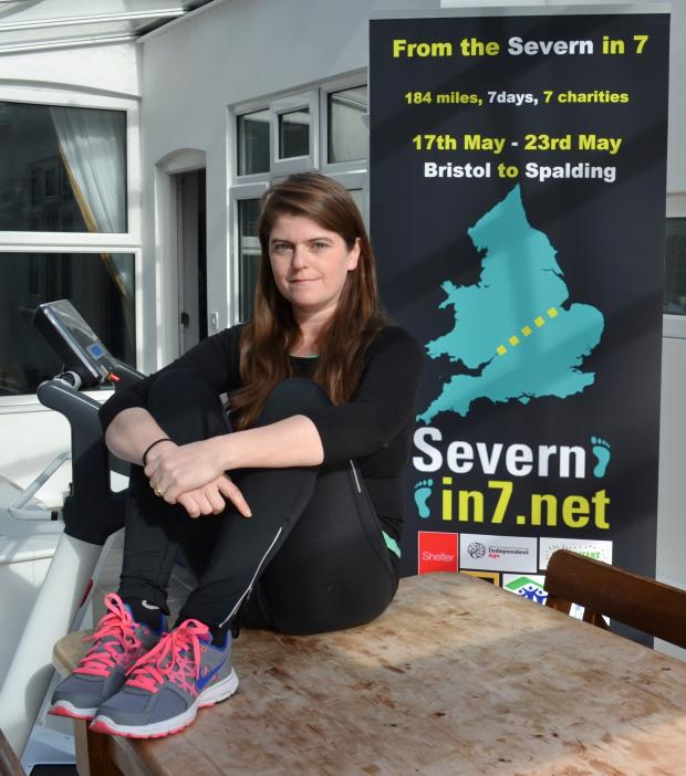 Cotswold Journal: Andrea Cameron walked 184 miles across the country
