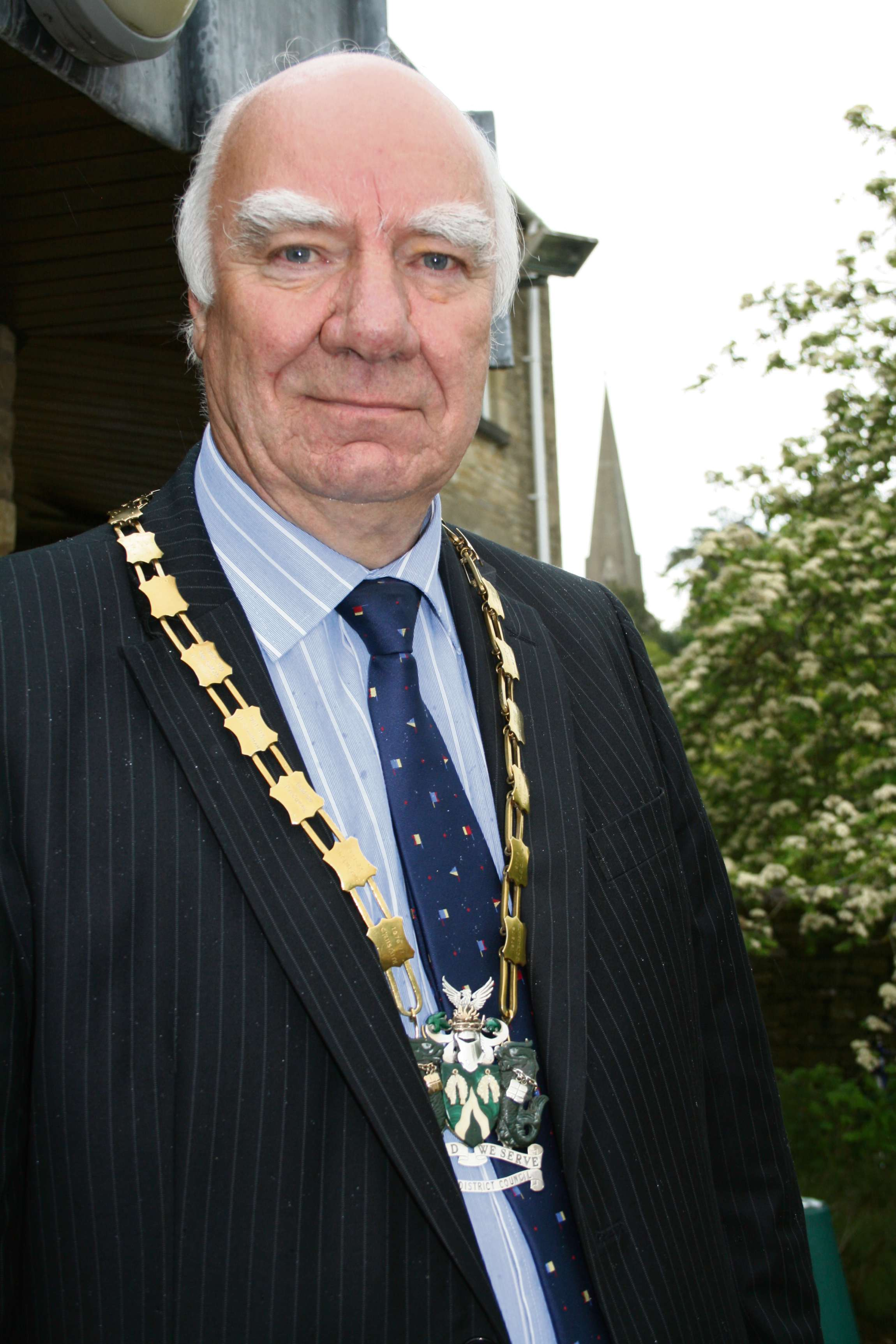 Cllr Clive Bennett, new Chairman of Cotswold District Council