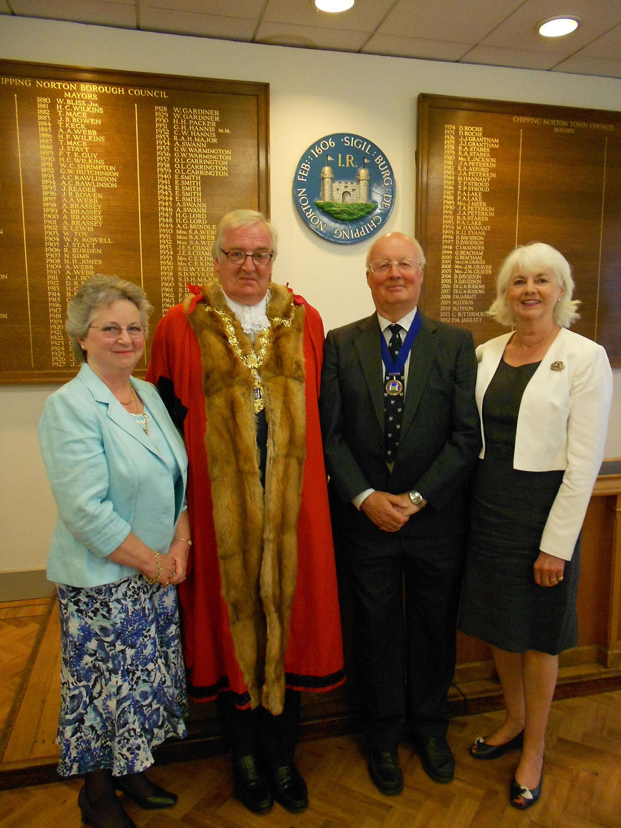 Chipping Norton Mayor continues for second term