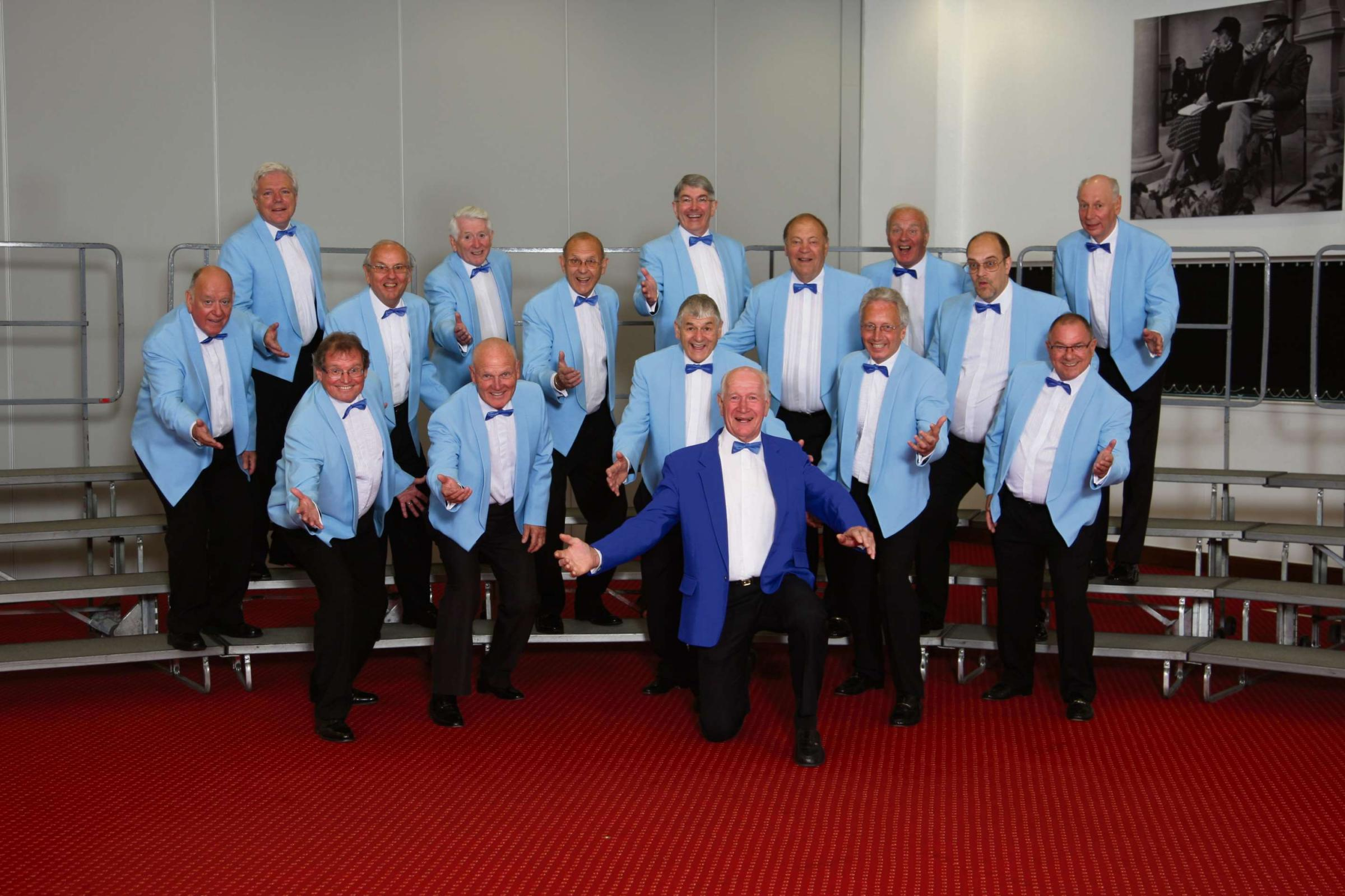 WINNERS: Vale Harmony at the Barbershop Convention