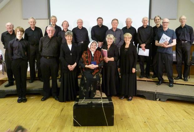 "Cotswold Journal: The cast who performed the play ""Joanna Southcott:Heroine or Heretic?""."