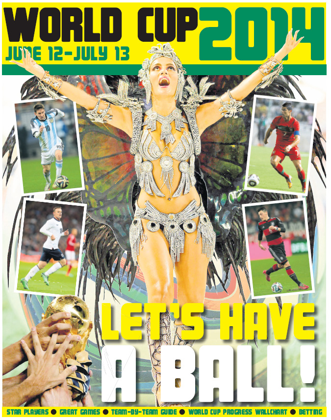 The Journal's 24 page World Cup Pull-Out available from June 5th - Don't miss it!