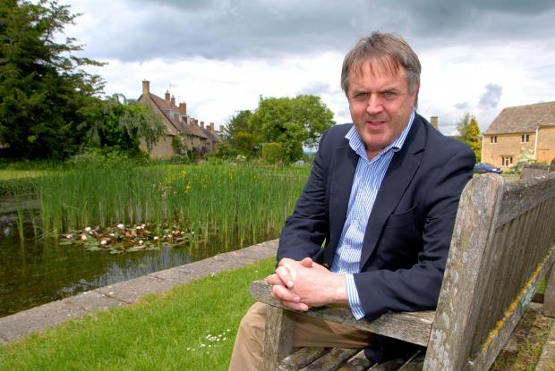 MAN WITH A PLAN: Cotswold District Council leader Lynden Stowe says a shock shake-up will put the area at the forefront of modern local government. Picture by Paul Jackson.