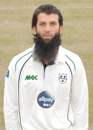 MOEEN ALI: In the England Test squad.