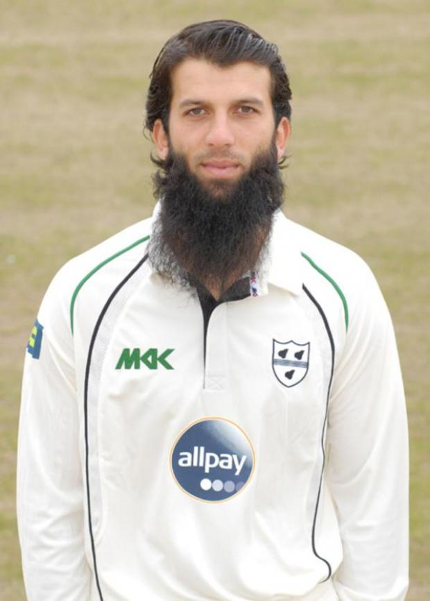 Cotswold Journal: ENGLAND MAN: Moeen Ali impressed County director of cricket Steve Rhodes with his gritty display at Headingley.